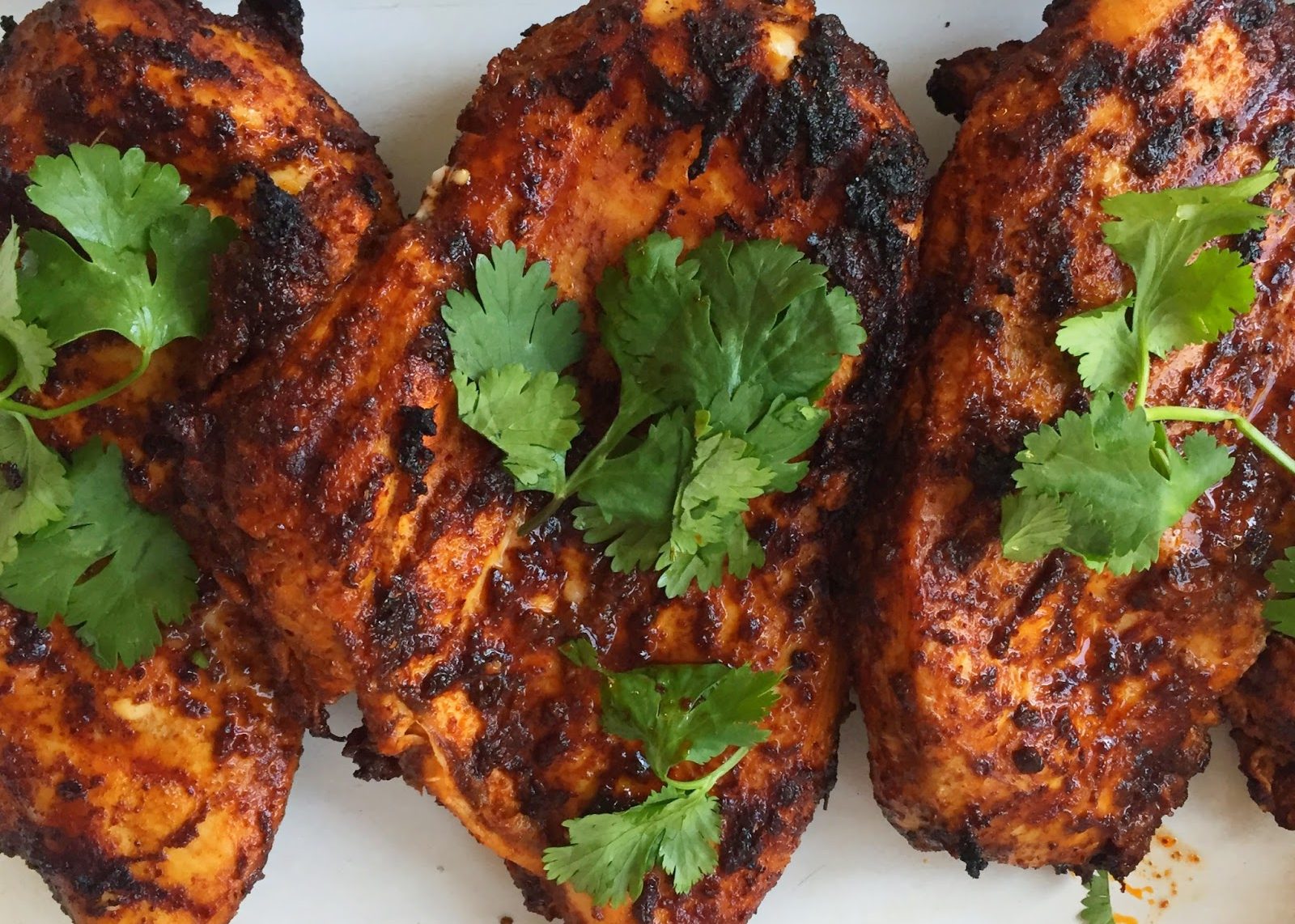 Easy Tex-Mex Grilled Chicken