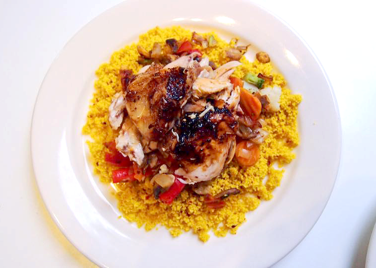 Seasoned Roast Chicken & Cous Cous