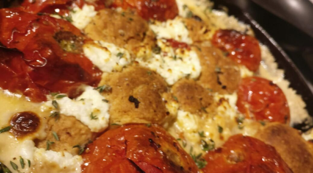 Photo of Tomato Cobbler